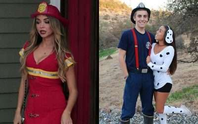 DIY Fire Fighter Costume