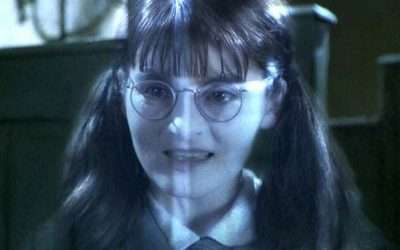 DIY Harry Potter Moaning Myrtle Costume