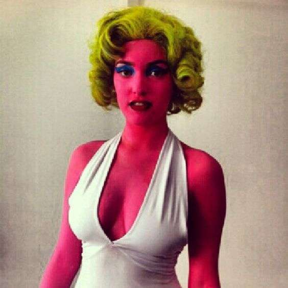 DIY Marilyn Monroe Halloween Costume Idea