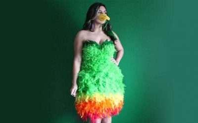 DIY Parrot Costume