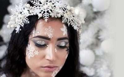 DIY Snowflake Costume