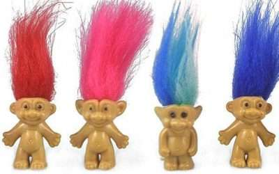 DIY Troll Doll Costume