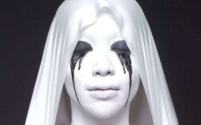 DIY AHS Weeping White Nun Costume
