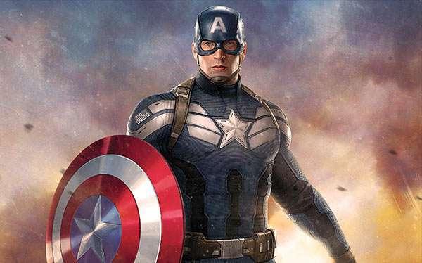 DIY Captain America Halloween Costume Idea