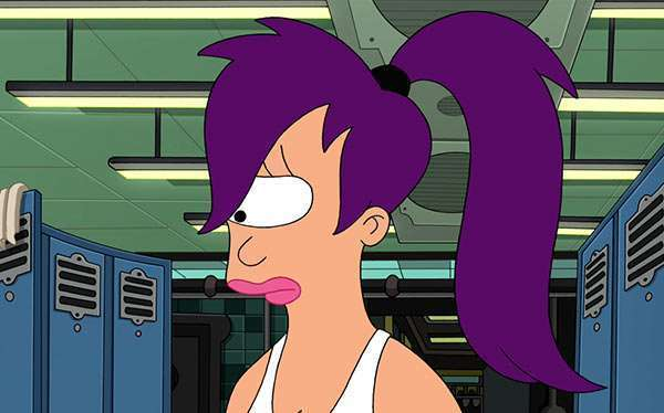 DIY Futurama Leela Costume