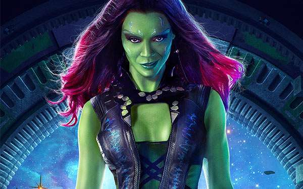 DIY Guardians of the Galaxy Gamora Halloween Costume Idea