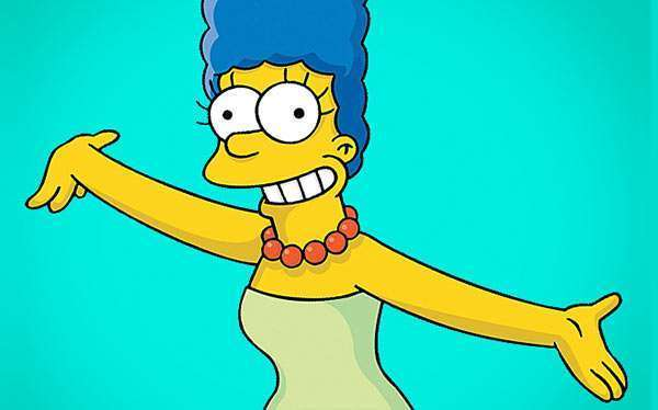 DIY Marge Simpsons Costume