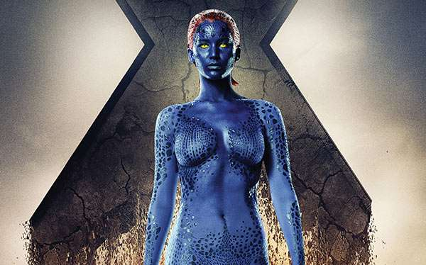 DIY X-Men Mystique Costume