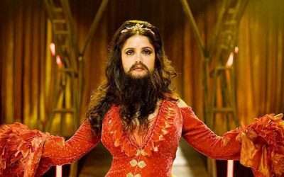 DIY Bearded Lady Costume