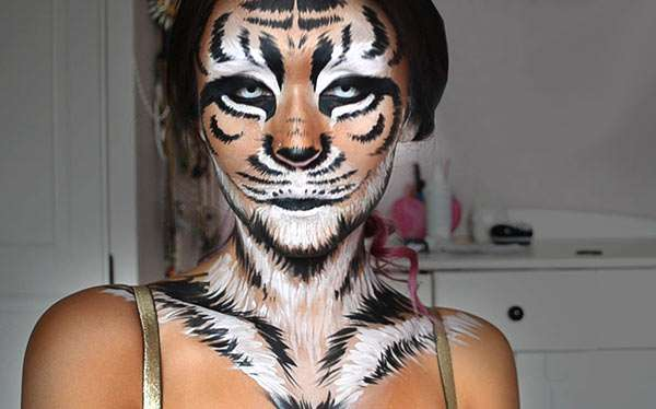 DIY Tiger Costume