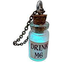 DIY Alice in Wonderland Halloween Costume Idea - Drink Me Bottle