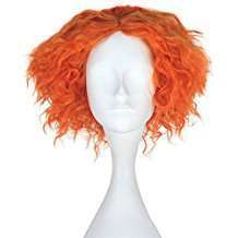 DIY Alice in Wonderland Mad Hatter Halloween Costume Idea - Wig