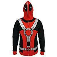 DIY Deadpool Halloween Costume Idea - Hoodie