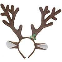 DIY Deer Halloween Costume Idea - Antlers