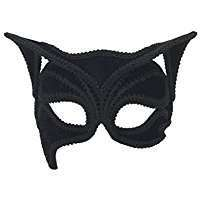 DIY Halloween Costume Idea - Black Cat Mask