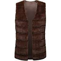 Brown Furr Vests