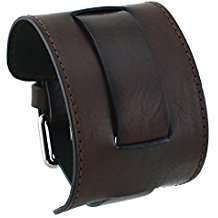 Brown Leather Cuffs