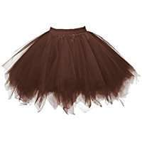 DIY Halloween Costume Idea - Brown Tutus
