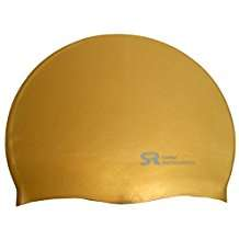 Golden Swim Caps