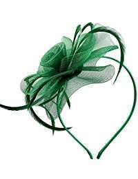 DIY Halloween Costume Idea - Green Fascinators