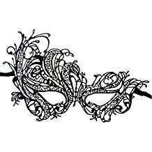DIY Halloween Costume Idea - Lace Mask