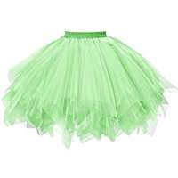 DIY Halloween Costume Idea - Light Green Tutus