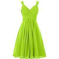 DIY Halloween Costume Idea - Lime Green Dresses