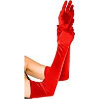 DIY Halloween Costume Idea - Long Red Gloves