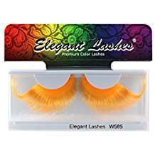 DIY Halloween Costume Idea - Orange Eyelashes