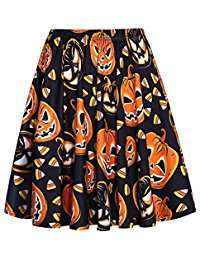 DIY Halloween Costume Idea - Pumpkin Skirts