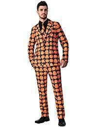 DIY Halloween Costume Idea - Pumpkin Suits