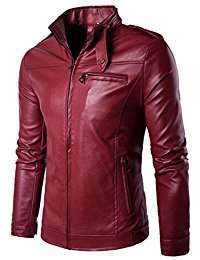 DIY Halloween Costume Idea - Red Leather Jacket