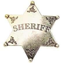 DIY Halloween Costume Idea - Sheriff Star