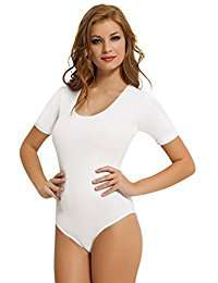 DIY Halloween Costume Idea - White Bodysuits