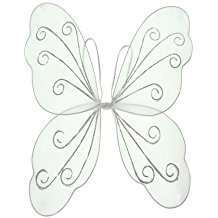 DIY Halloween Costume Idea - White Butterfly Wings