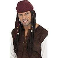 DIY Jack Sparrow Pirate Halloween Costume Idea - Wig