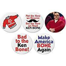 DIY Ken Bone Halloween Costume Idea - Buttons
