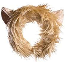 DIY Lion Halloween Costume Idea - Headband