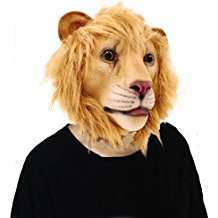 DIY Lion Halloween Costume Idea - Masks