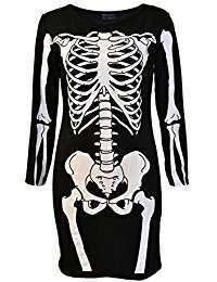 DIY Skeleton Halloween Costume Idea - Dresses