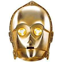 DIY Star Wars C3PO Halloween Costume Idea - Mask