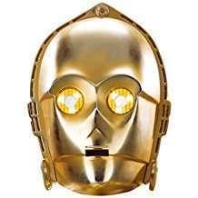 DIY Star Wars C3PO Halloween Costume Idea - Mask