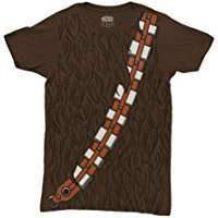 DIY Star Wars Chewbacca Halloween Costume Idea - Shirts
