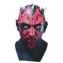 DIY Star Wars Darth Maul Halloween Costume Idea - Mask