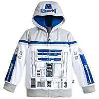 DIY Star Wars R2D2 Halloween Costume Idea - Hoodie
