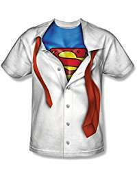 DIY Superman Clark Kent Halloween Costume Idea - Shirt