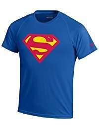 DIY Superman Halloween Costume Idea - Shirt