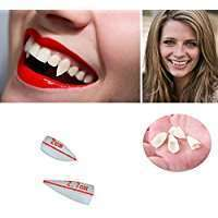 DIY Vampire Halloween Costume Idea - Teeth