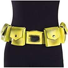 DIY Vintage Batman Halloween Costume Idea - Yellow Utility Belt