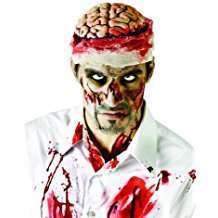 DIY Zombie Halloween Costume Idea - Brain